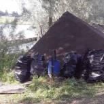 Волонтеры провели экологическую акцию в поселке ВНИИССОК