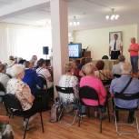 Вопросы благоустройства обсудил Андрей Голубев на встрече с союзом пенсионеров в Кашире