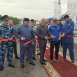 В селе Гехи в Чечне открылся ФОКОТ, построенный при содействии проекта «Детский спорт»