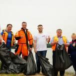 Дмитровский экодесант собрал более 70 кг мусора на озере Карпово