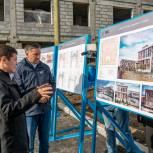 Дмитрий Кобылкин осмотрел строительство нового микрорайона «Обдорский» в Салехарде
