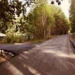 В Клепиковском районе отремонтировали дорогу к кладбищу