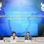 Владимир Нетёсов принял участие в совещании по вопросам развития регионального здравоохранения