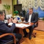 На строительство физкультурно-оздоровительного комплекса в Скопинском районе выделены федеральные средства