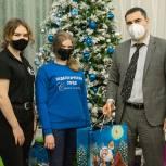 Депутаты областной Думы поздравили воспитанников школ-интернатов