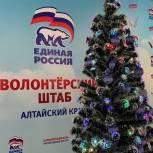 Депутаты «Единой России» в Алтайском крае приняли участие во Всероссийской благотворительной акции «Елка желаний»