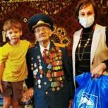 Татьяна Ильюченко вручила бийским ветеранам новогодние подарки