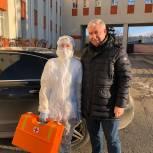 Депутат Госдумы Сергей Есяков помог пензенским медикам доставить лекарства пациентам коронавирусом