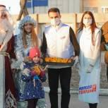 Подмосковные молодогвардейцы провели акцию «Здоровью праздник не помеха»
