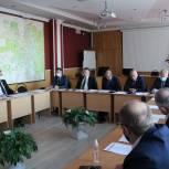 Прошло заседание фракции партии «Единая Россия»