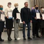 Дмитрий Саблин награжден почетным знаком школы № 2094