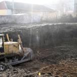 В Сасове снесли старое здание школы №1