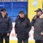 Торжественное открытие хоккейной коробки состоялось в городском округе Домодедово
