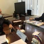 Абдулмажид Маграмов обсудил с представителем Правительства Дагестана в Севастополе вопросы сотрудничества