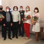 Рязанских медиков поблагодарили за вклад в борьбу с распространением пандемии