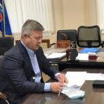 Станислав Мошаров провел онлайн-прием граждан