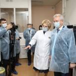 Губернатор поставил задачу увеличения масштабов тестирования на COVID-19