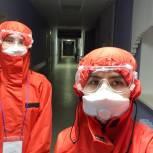 Рязанские волонтеры продолжают помогать медперсоналу