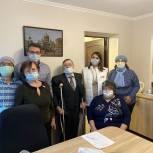 Молодогвардейцы Ленинградской области в честь Международного дня инвалидов оказали адресную помощь Тосненскому обществу инвалидов