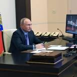 Владимир Путин: Вы находитесь на правильном пути