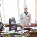 Медикам Грачевского района передали чайные наборы