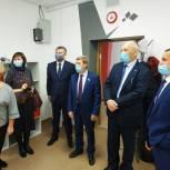Сенатор Владимир Кравченко и областной депутат Дмитрий Никулин обсудили вопросы развития Зырянского района