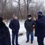 В Петровске после обращения к депутату проводится благоустройство микрорайона