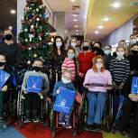 Детям из областной федерации танцев на колясках подарили праздник
