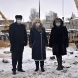 Строительство нового здания школы №1 в Сасове – под контролем «Единой России»