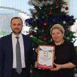 Андрей Кашаев наградил федерального победителя «Диктанта Победы»