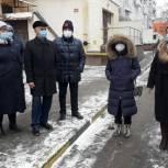 Владимир Шапкин встретился с жителями Балашихи после их обращения на портал «Добродел»
