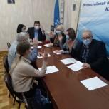Волонтерские штабы «Единой России» в муниципалитетах совершенствуют свою работу