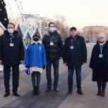 Единороссы проверили украшение Королёва к Новому году
