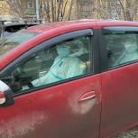 Автоволонтеры продолжают оказывать помощь мурманской поликлинике