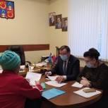 В Балашихе провёл приём руководитель фракции «Единая Россия» в совете депутатов