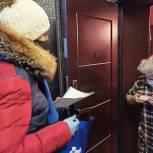 Волонтёры принесли рецептурные лекарства пожилой жительнице Королёва