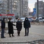 Юлия Рокотянская проинспектировала ремонт дворовых и уличных территорий
