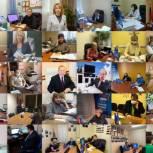 Более 60 депутатов и экспертов провели приёмы для жителей Западного округа