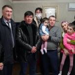 Марина Котенко исполнила новогоднее желание девочки из села Кокрек Хасавюртовского района