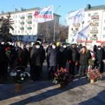 «Единая Россия» поздравила героев по всей стране