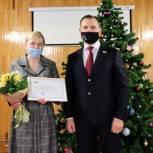 Игорь Мурог поздравил с юбилеем рязанского воспитателя