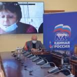 Игорь Артамонов провел приём граждан в режиме видеоконференции