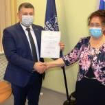 Сослан Такаев провел приём граждан в Ферзиковском районе