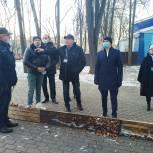 Единороссы проверили качество нового спортивного комплекса в Королёве