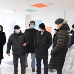 Панков: Капитальный ремонт школы в Перелюбе должен завершиться до конца года