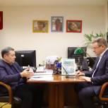 Николай Любимов обсудил с Андреем Макаровым вопросы финансовой поддержки Рязанской области и инициативы «Единой России»