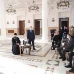 Александр Еремкин принял участие в заседании губернаторского штаба по восстановлению Спасского собора