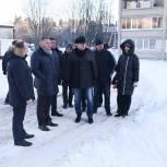 Депутаты-единороссы Сергиево-Посадского окружного совета проверили качество уборки дорог и территорий