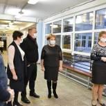 Единороссы Сергиева Посада проверили эпидемиологическую безопасность и качество питания в школе №1