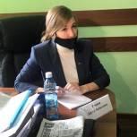 Дарья Репина провела выездной прием в Полысаево